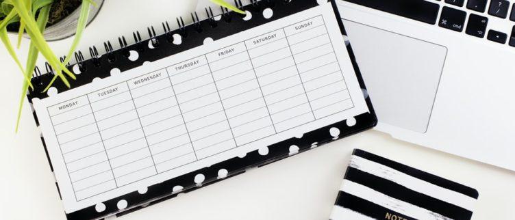 Gratis dagstructuur schema & 13 tips voor een goede dagindeling